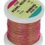 Hends Hends Fine Pearl Round Ribbing PRR 08 RED PEARL