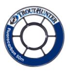 TROUTHUNTER TROUTHUNTER FLUORO -  3X  TIPPET