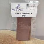 Wapsi Fly Razor Foam  Brown