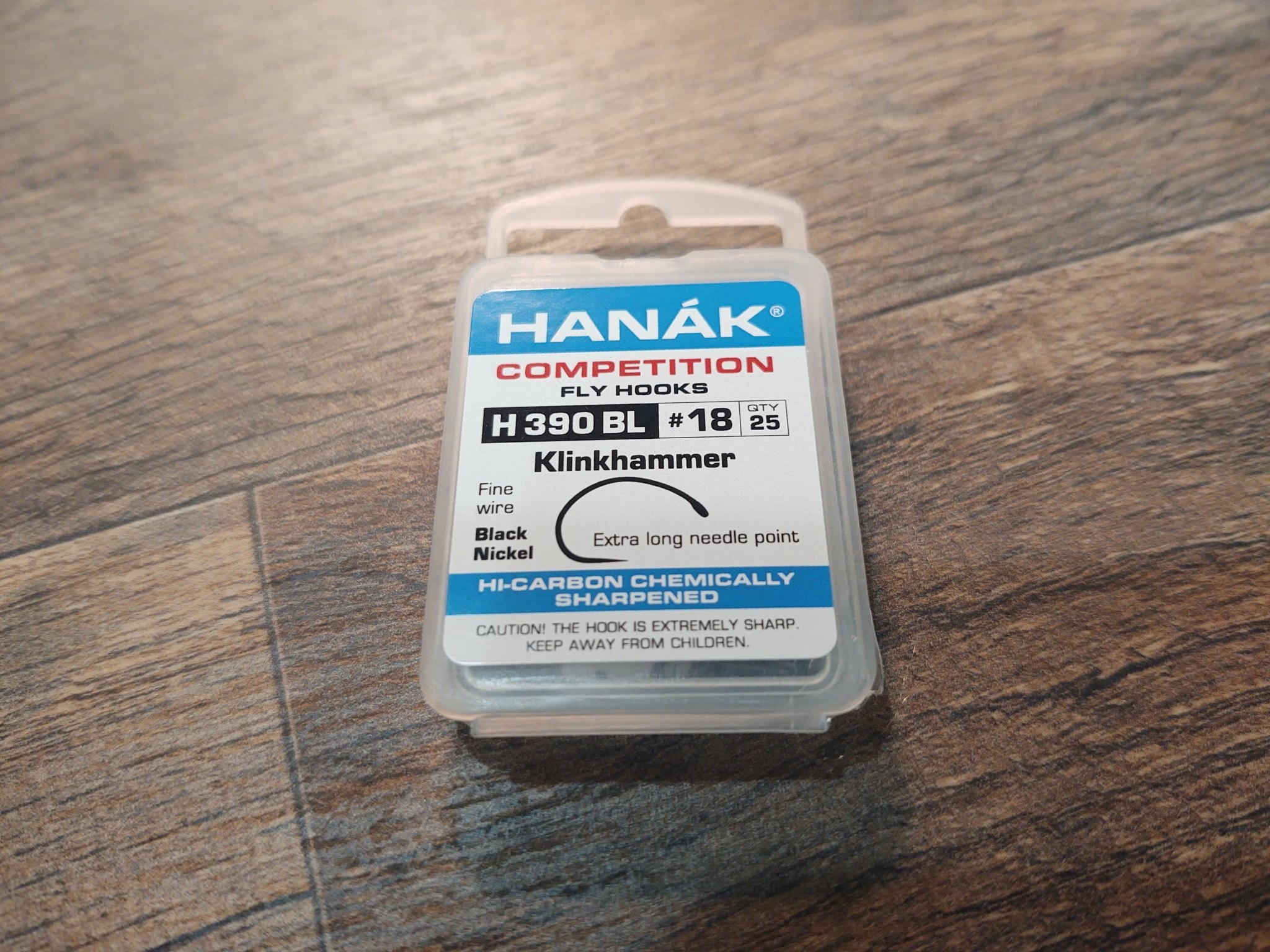 Hanak Hanak Hooks, Model 390, Sz 18, 25 pk