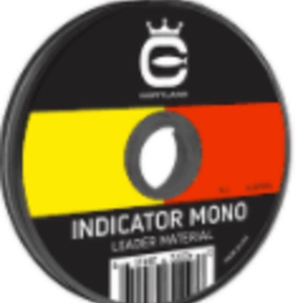 "Cortland Indicator Mono  .01""/ 10.5 lbs 50' Bi-Color"