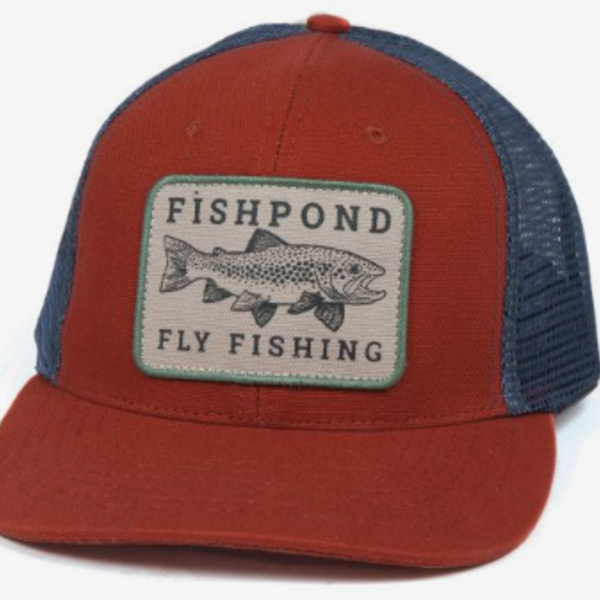 Fishpond Las Pampas Hat- Redrock/Slate
