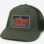 Fishpond Rainbow Brookie  Hat- Olive