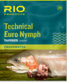 RIO RIO Technical Euro Nymph 14'  2X 4X Black/White
