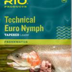RIO RIO Technical Euro Nymph 14'  2X 4X Pink/Yellow