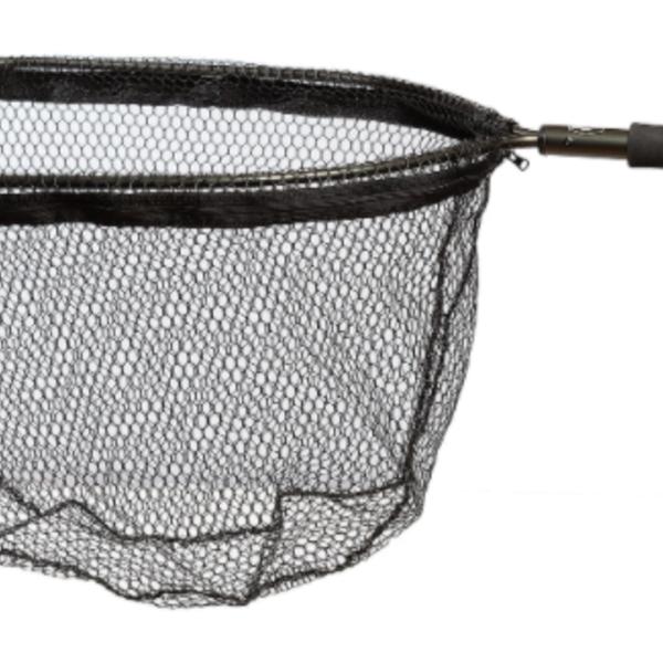 "Adamsbuilt 19"" Aluminum  Trout Net - Black Net"