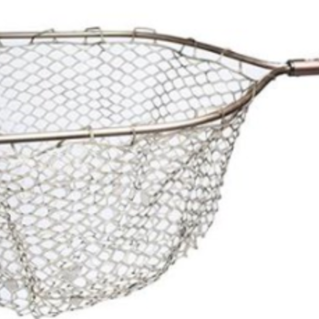 "Adamsbuilt 19"" Aluminum Net - Camo Ghost Netting"