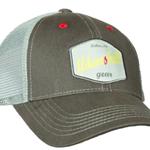 Adams Built Adams Built - Mesh Trucker Style Hat - Graphite/Grey