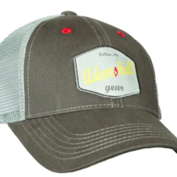 Adams Built Adams Built - Mesh Trucker Style Hat - Olive