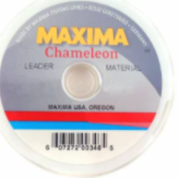 maxima MAXIMA-CHAMELEON LEADER SPOOL  12lb 27 Yards