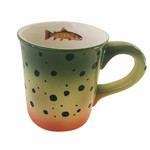 Wind River Gear Wind River Gear - Hand Painted Mug - Cutthroat Trout