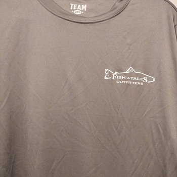 Fish Tales Fish Tales Shirt - Long Sleeve  - Front Logo - Tan