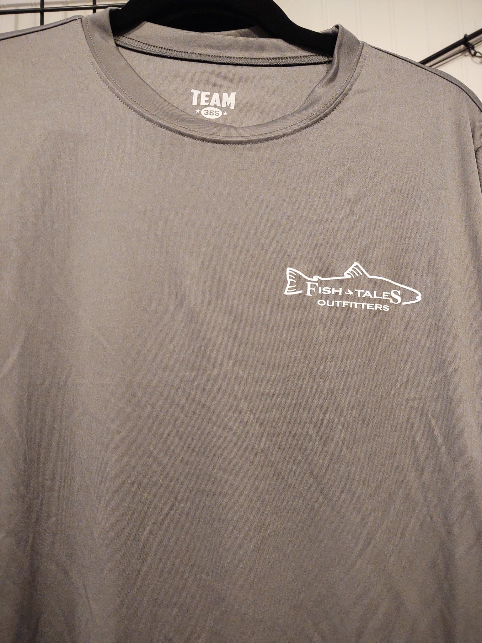 Fish Tales Fish Tales Shirt - Long Sleeve  - Front Logo - Tan