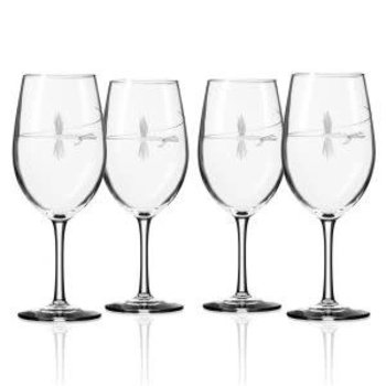 Rolf Glass Fly Fishing All Purpose Wine Glass  -1  Glass