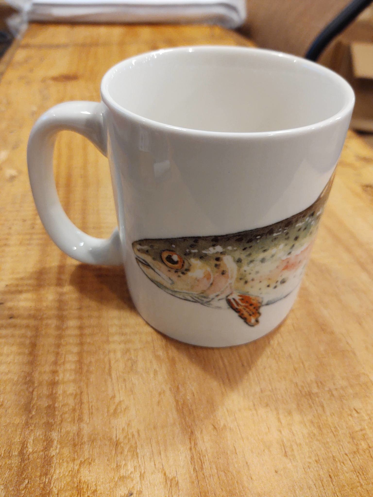 Black Forest Decor Rainbow Trout Mug