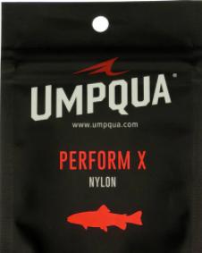UMPQUA UMPQUA - PERFORM X POWER TAPER TROUT LEADER 7.5' (3PK) - 4X