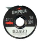 UMPQUA Deceiver X  FLUOCARBON TIPPET (50 YRDS)  - 4X