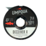 UMPQUA DECEIVER X FLUOROCARBON TIPPET (50YDS) - 6X