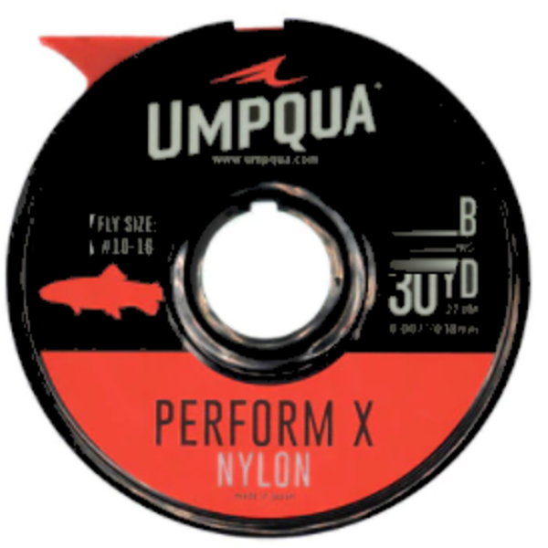 UMPQUA UMPQUA - PERFORM X TROUT NYLON TIPPET (30YDS) - 4X