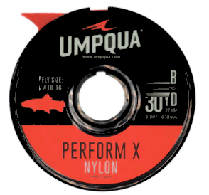 UMPQUA UMPQUA - PERFORM X TROUT NYLON TIPPET (30YDS) - 3X
