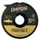 UMPQUA UMPQUA - PHANTOM X FLUOROCARBON TIPPET (30YDS) - 6X