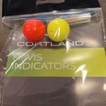 Cortland Hi-Vis Large round Strike Indicators 2 Pack