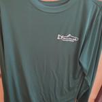 Fish Tales Fish Tales Shirt - Long Sleeve  - Front Logo - Green