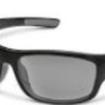 SunCloud COVER  BLACK POLARIZED GRAY WITH 1.5 READER