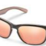 SunCloud DEL RAY ROSE GOLD POLARIZED PINK GOLD MIRROR
