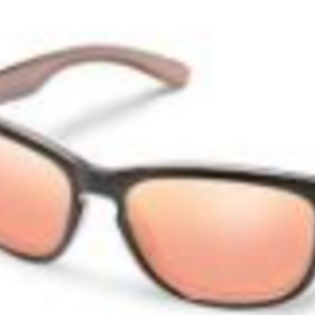 SunCloud SUNCLOUD DEL RAY ROSE GOLD POLARIZED PINK GOLD MIRROR
