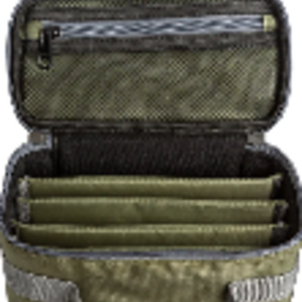 Adamsbuilt FLY BOX CARRY CASE - SMALL WITH 5 DIVIDED COMPARTMENTS FOR SLIM OR SUPER SLIM BOXES