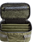 Adamsbuilt Adamsbuilt - FLY BOX CARRY CASE -LARGE  WITH 4 DIVIDED COMPARTMENTS FOR SLIM OR SUPER SLIM BOXES