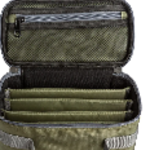 Adamsbuilt FLY BOX CARRY CASE -LARGE  WITH 4 DIVIDED COMPARTMENTS FOR SLIM OR SUPER SLIM BOXES