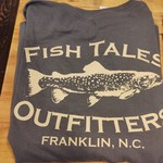 Fish Tales Fish Tales Long Sleeve - Cotton  -Front and Back Logo