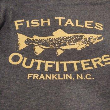Fish Tales Fish Tales Short Sleeve  Shirt - Slant Logo