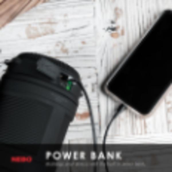 NEBO NEBO BIG POPPY RECHARGEABLE LANTERN POWER BANK