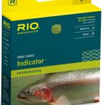 RIO RIO Indicator WF5F Gray Dun/Brite Grn. Indicator Tip