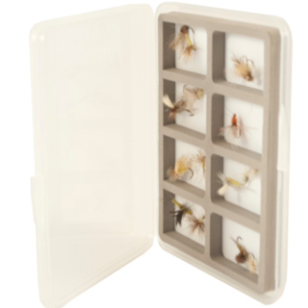South Fork/New Phase FLY BOX ULTRA SLIM WITH 8 COMPARTMENTS