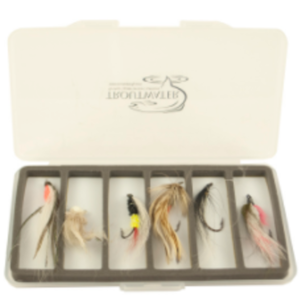 South Fork/New Phase FLY BOX ULTRA SLIM WITH 6 COMPARTMENTS