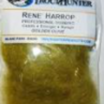TROUTHUNTER RENE HARROP DUBBING - GOLDEN OLIVE