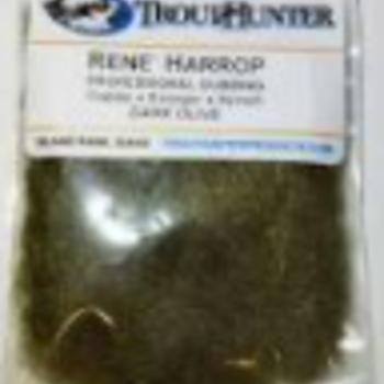 TROUTHUNTER TROUTHUNTER RENE HARROP DUBBING - DARK OLIVE