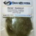 TROUTHUNTER TROUTHUNTER RENE HARROP DUBBING - GREY OLIVE