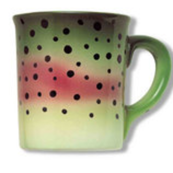 Wind River Gear Hand Painted Mug - Rainbow Trout