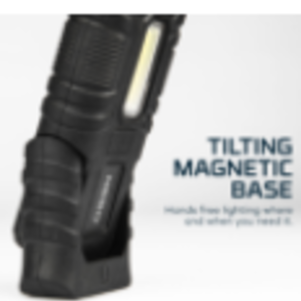 NEBO NEBO ARMOR 3 FLASHLIGHT AND WORK LIGHT