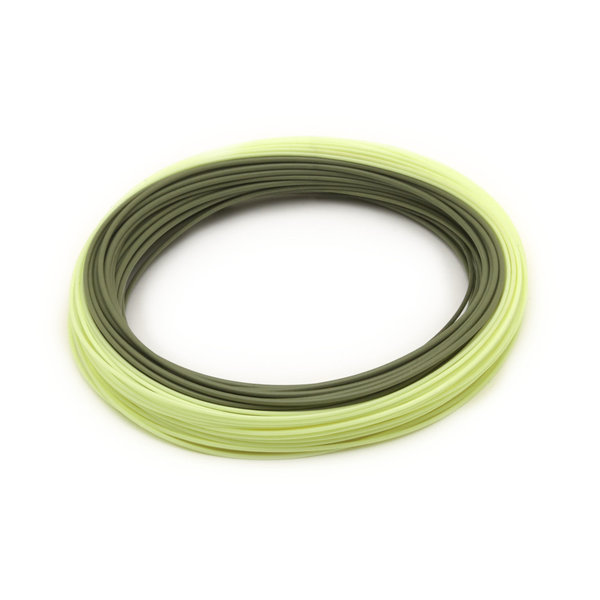 RIO CREEK TROUT SERIES FLY LINE WF5F GREEN/YELLOW