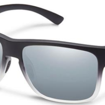 SunCloud RAMBLER BLACK GRAY FADE POLARIZED SILVER MIRROR
