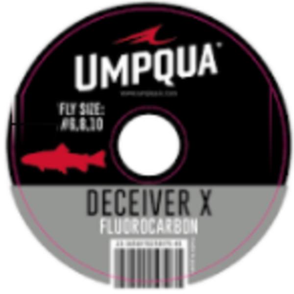 UMPQUA DECEIVER X FLUOROCARBON TIPPET (50YDS) - 5X