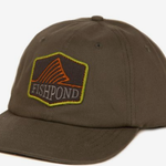 Fishpond DORSAL FIN HAT- FULL BACK- MOSS