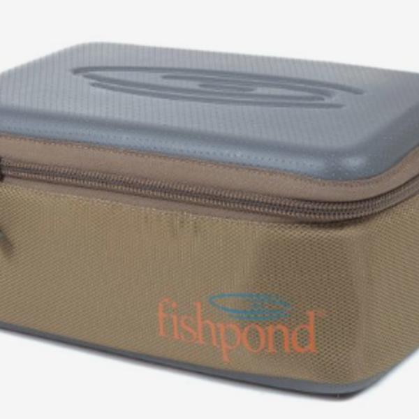 Fishpond Reel Case - Large - Sand/Saddle Brown