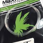 MAXXON Outfitters Maxxon Tapered knotless leader - Salt -  9' 8 LBS